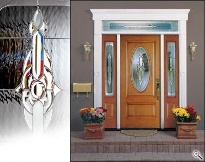 Trimlite Door Decorative Glass